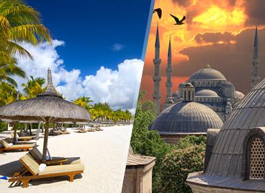 Viajes Isla Mauricio, Turquía e Islas del Índico 2019-2020: Estambul y Mauricio