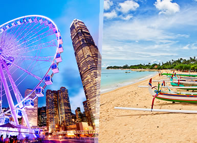 Viajes China e Indonesia 2019: Combinado Hong Kong y Bali