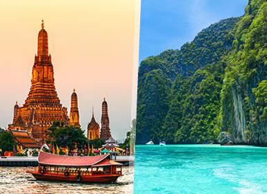 Viajes Tailandia 2019: Combinado Bangkok y Playas de Phuket a tu aire
