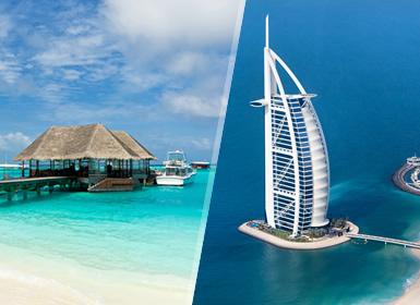 Viajes Emiratos Árabes, Islas del Índico y Maldivas 2019-2020: Dubái y Maldivas