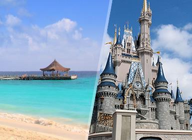Viajes México, EEUU y Costa Este 2019: Paquete Walt Disney World Orlando y Playas de Riviera Maya