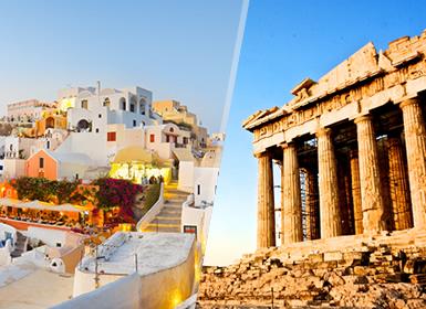 Viajes Grecia 2019-2020: Atenas y Playas de la Isla de Santorini en avión a tu aire