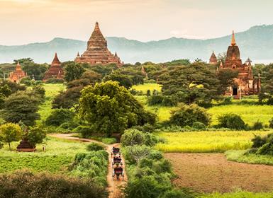 Circuitos por Myanmar