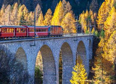 Viajes Suiza 2018-2019: Suiza en tren