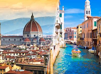 Viajes Italia 2018-2019: Combinado Italia: Florencia y Venecia en tren