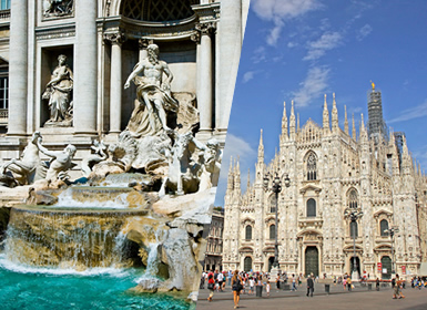 Viajes Italia 2019: Viaje Italia: Roma y Milán en avión