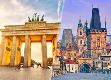 Viajes Centroeuropa, Alemania y República Checa 2019-2020: Berlín y Praga en avión