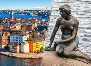 Viajes Dinamarca, Suecia y Norte de Europa 2019-2020: Estocolmo y Copenhague en avión