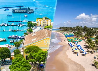 Viajes Brasil y El Salvador 2019: Salvador y Playa de Guarajuba