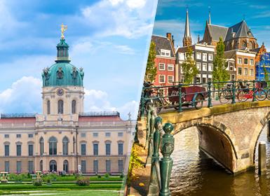 Viajes Países Bajos, Alemania y Holanda 2019: Berlín y Ámsterdam en avión