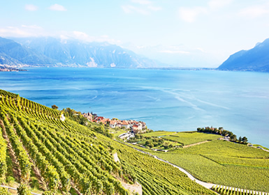 Viajes Suiza 2019: Ruta por el Lago Leman al pie de los Alpes