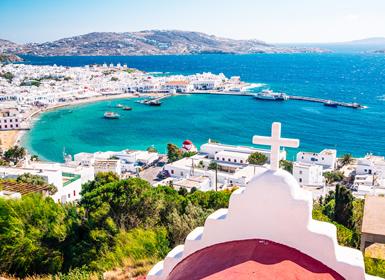 Viajes Grecia 2019-2020: Atenas, Peloponeso y Mykonos