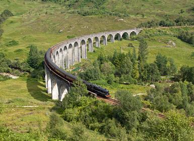 Viajes Escocia e Islas Británicas 2018-2019: Viaje por Escocia en tren