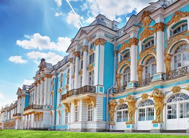 Viajes Rusia 2019-2020: Escapada a San Petersburgo y Moscú con visitas tren nocturno