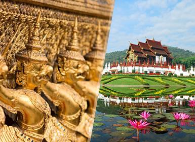 Viajes Tailandia 2019: Combinado Bangkok y Chiang Mai flexible en noches