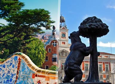 Viajes Madrid, Aragón, Castilla La Mancha y Cataluña 2018-2019: Desde Barcelona a Madrid con Toledo