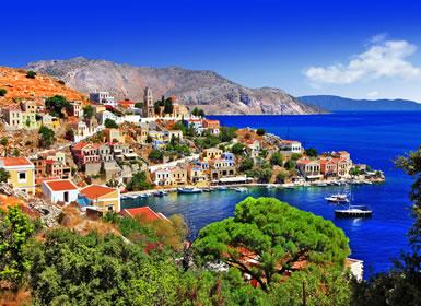 Viajes Grecia 2019-2020: Ruta en Coche del Peloponeso a las Islas del Mar Egeo