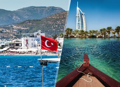 Viajes Emiratos Árabes y Turquía 2019-2020: Combinado Estambul y Dubái