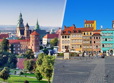 Viajes Polonia 2019-2020: Cracovia y Varsovia