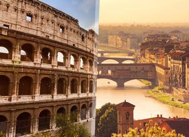 Viajes Italia 2018-2019: Italia Cultural: Roma y Florencia en tren