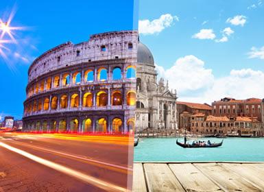 Viajes Italia 2018-2019: Viaje a Italia en Tren: Roma y Venecia en tren