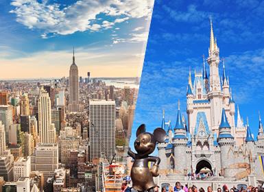 Viajes Costa Este y EEUU 2019-2020: Combinado Nueva York y Parques Disney World Orlando