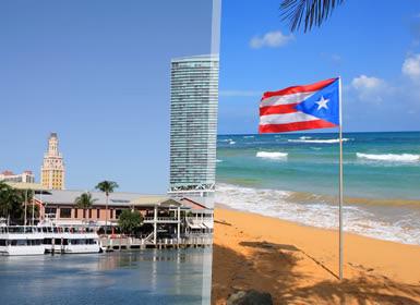 Viajes Puerto Rico y EEUU 2019-2020: Combinado Miami y San Juan de Puerto Rico