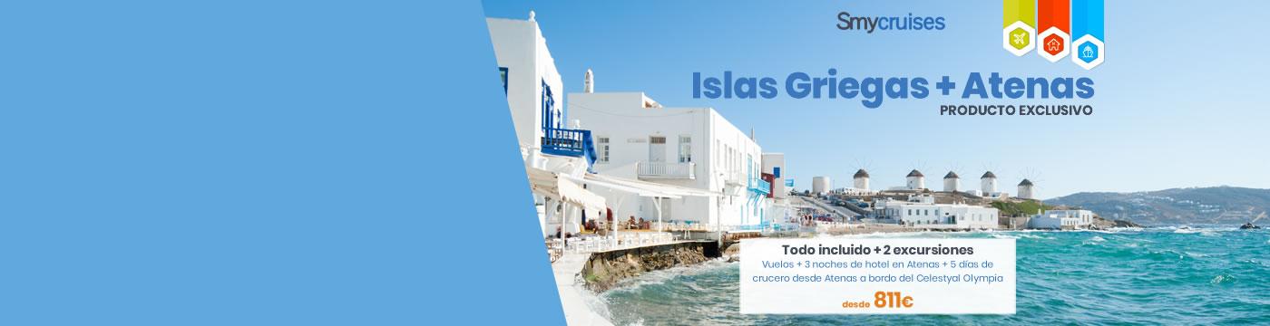 Cruceros Islas Griegas 2019
