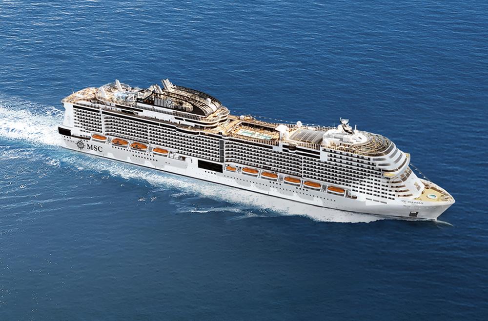 Barco MSC Meraviglia - MSC Cruceros