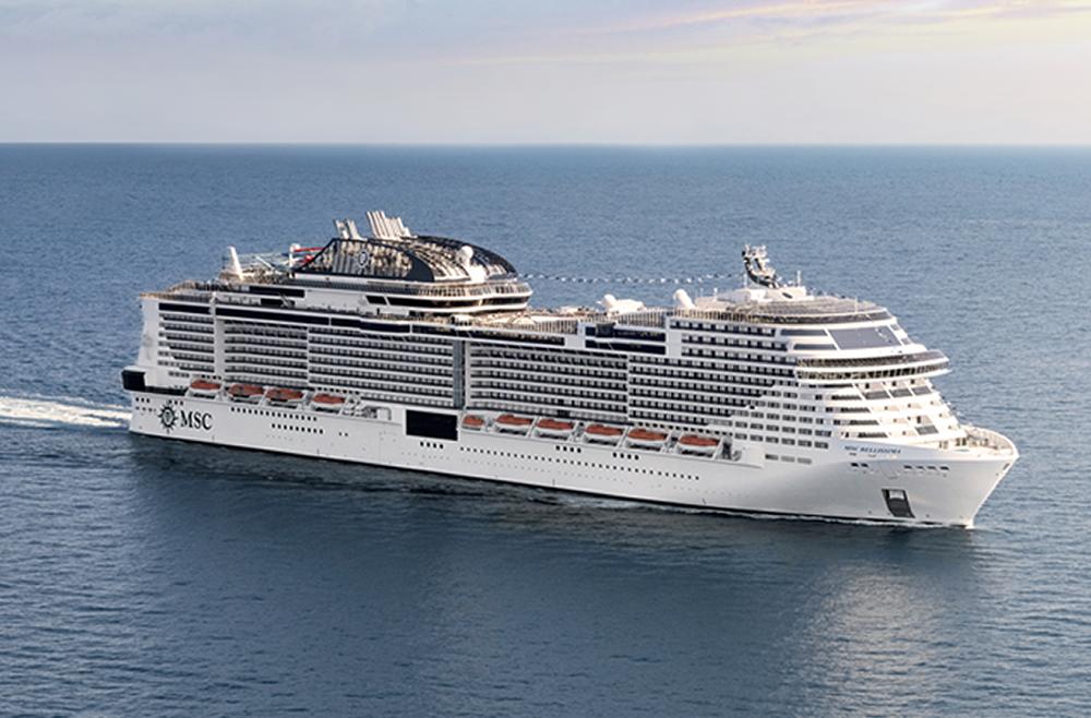 Barco MSC Bellissima - MSC Cruceros