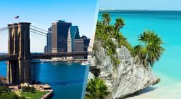 Busca un Viaje Chollo en EEUU y México: Nueva York y Riviera Maya