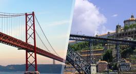 Busca Chollo Vacaciones en Portugal: Lisboa y Oporto en avión
