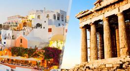 Busca un Viaje Chollo en Grecia: Atenas y Santorini en avión