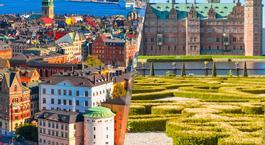 Norte de Europa: Estocolmo y Copenhague en avión