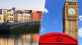 Busca un Viaje Chollo en Islas Británicas: Londres y Dublín en avión