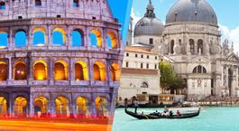Busca Chollo Vacaciones en Italia: Roma y Venecia en tren