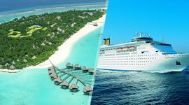 Chollos viajes ultimo minuto a India e Islas del Índico: Crucero por la Costa India y Maldivas