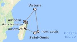 Chollos viajes ultimo minuto a Islas del Índico: Mauricio y Crucero por Seychelles, Madagascar y Reunión