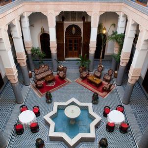 Marruecos: Marruecos en Riads