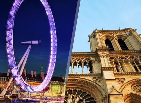 París y Londres en Tren