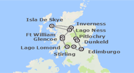 Escocia: Lago Ness e Isla de Skye