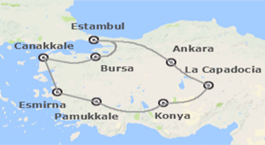 Turquía: De Estambul a Esmirna