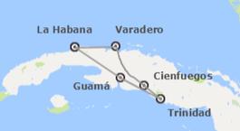 Cuba: Habana, Guamá, Trinidad, Cienfuegos y Varadero