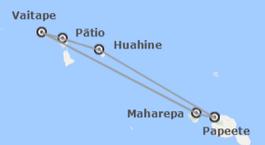 Polinesia Francesa: Paul Gauguin: Islas de la Sociedad