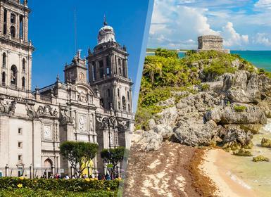 Viajes México 2017: Combinado Ciudad de México y Riviera Maya