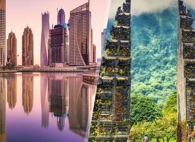 Viajes Emiratos Árabes e Indonesia 2019-2020: Combinado Dubái y Bali
