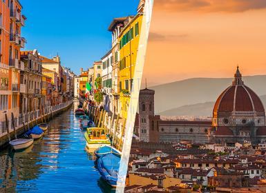 Viajes Italia 2019-2020: Venecia y Florencia en tren