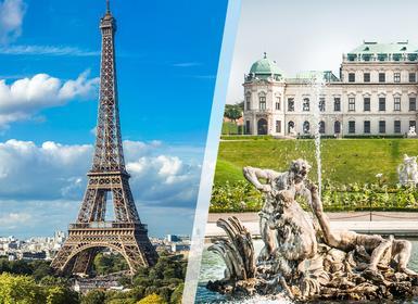 Viajes Austria y Francia 2019-2020: París y Viena en avión