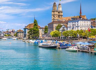 Viajes Suiza 2018-2019: Especial Semana Santa Ginebra, Zúrich, Berna y Lago Leman
