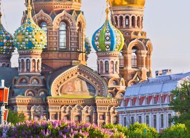 Viajes Rusia 2017: Viaje Semana Santa 2018 Moscú y San Petersburgo tren Diurno